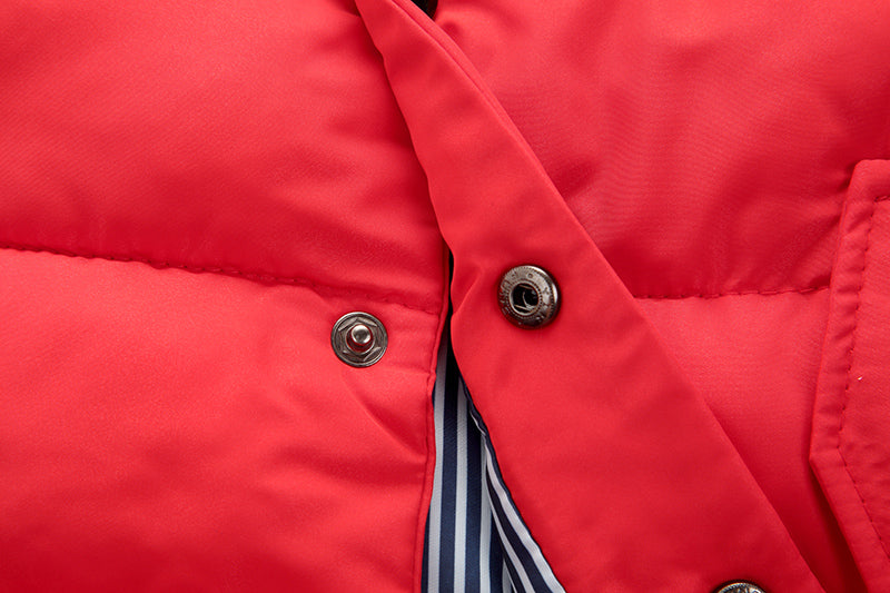 Puffer Vest - Red