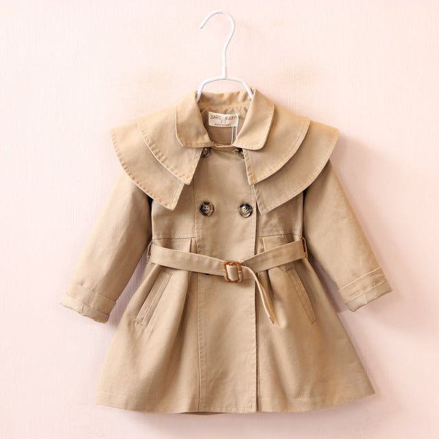 Waisted Trenchcoat - Sand
