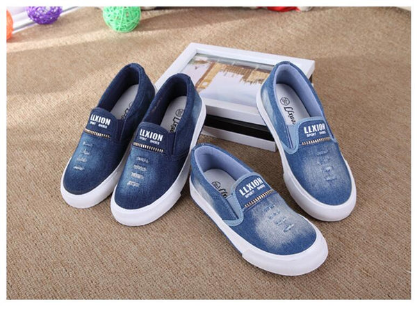 Slip-On Denim Casual Shoe