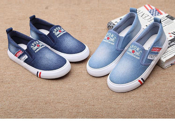 Slip-on Denim Sport Shoe