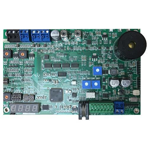 Flashgate A208 Circuit Board (formerly Detectag Circuit Board), RF 1.81MHz version, used in Electronic Article Surveillance (EAS) anti-theft systems for the prevention of shoplifting.