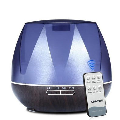 550ml Air Essential Oil Diffuser & Ultrasonic Cool Mist Humidifier with Night light - Glosence