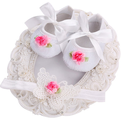 Soft Soled Girls baby Shoes - Glosence