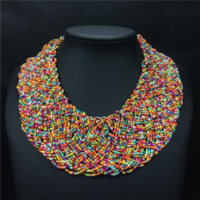 Handmade Bead Necklaces - Glosence