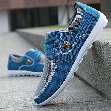 Men's Trendy Summer Canvas Shoes - Glosence
