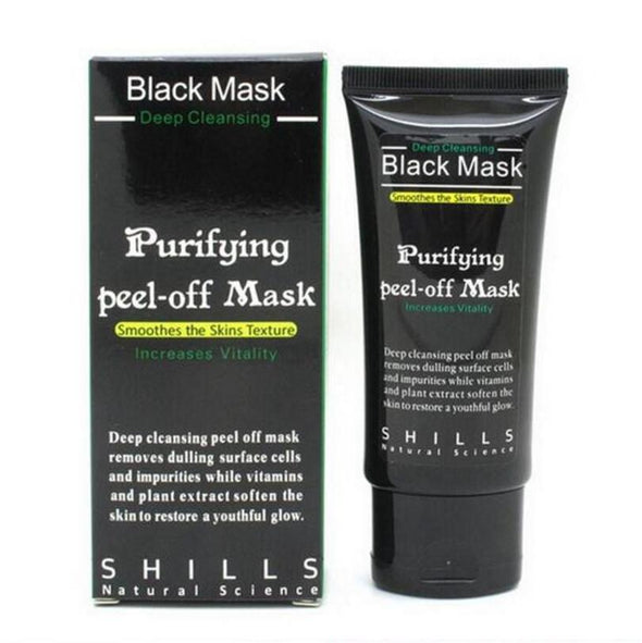 Deep Cleansing Purifying Peel Off Black Facial Mask - Glosence
