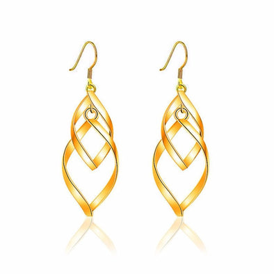 Leaves fashion earrings - Glosence