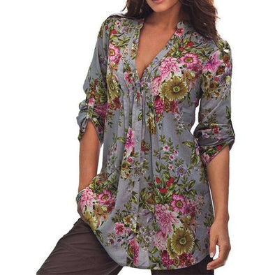 Tunic Fashion Blouses - Glosence