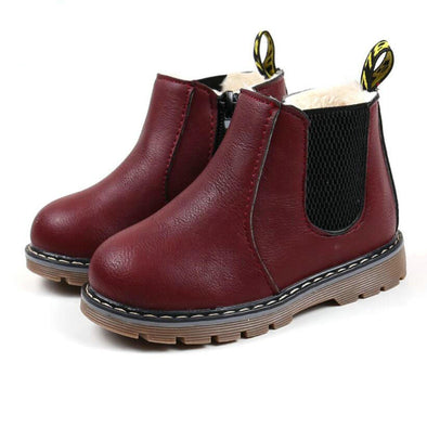 Leather Boots Baby Shoes - Glosence