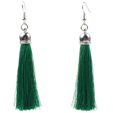 Long Tassels Women Earrings - Glosence
