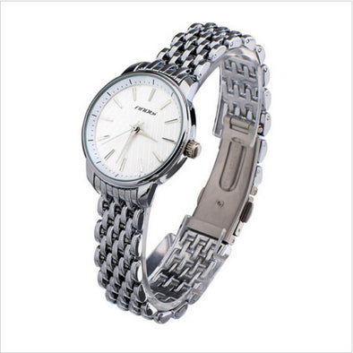 Brand luxury ladies stainless steel watch - Glosence