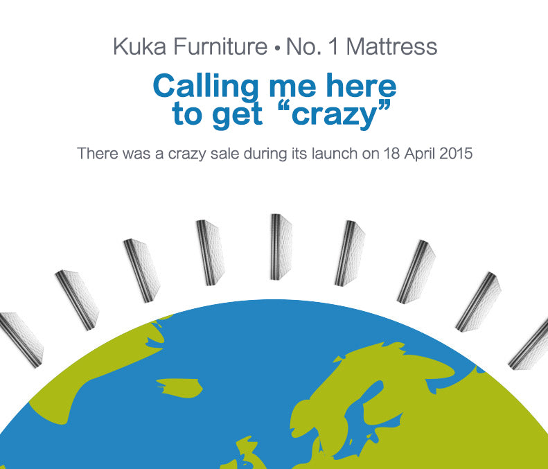 KUKA M0168C Mattress - Crazy Sales at Launch
