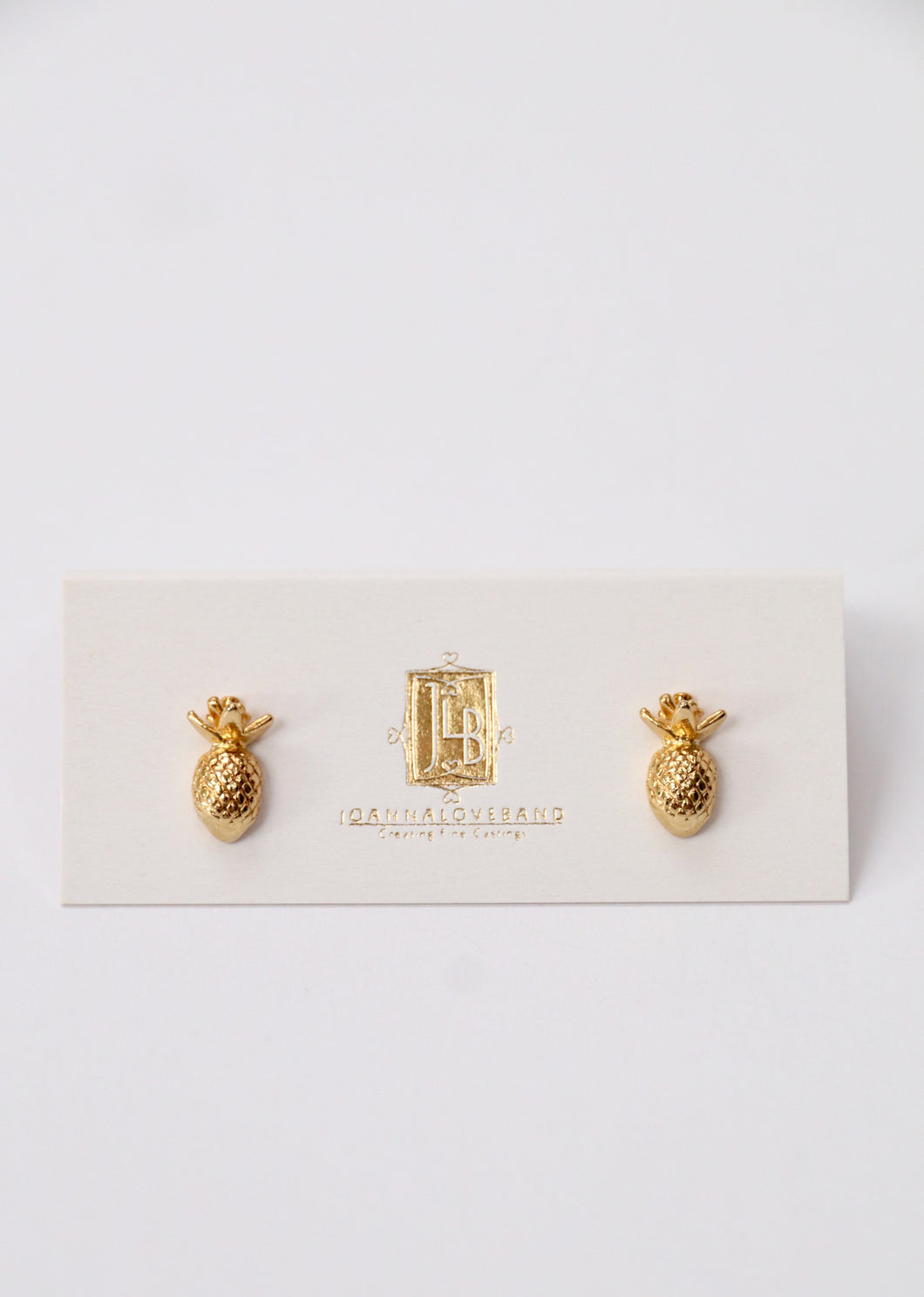 9ct Gold Pineapple Studs