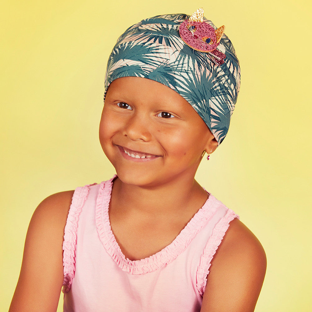 Petite Peanut - Tiger Palm Leaves kids Headwear 6-12 years