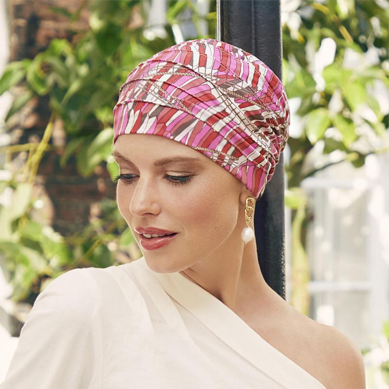 Christine - Yoga Printed Turban - Indian Summer