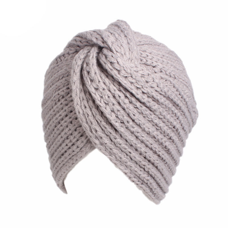 Georgia Lee Knitted Winter Style Chemo Hat