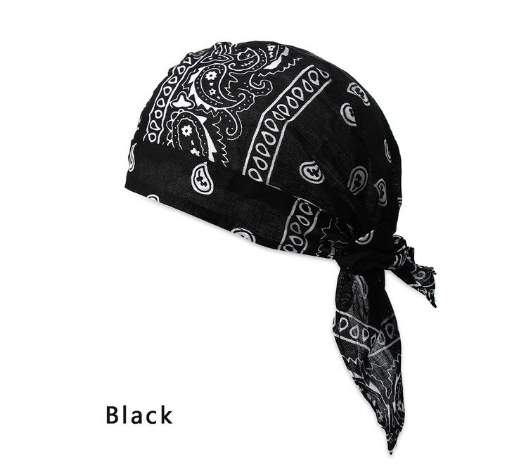 Men's Quick Dry Adjustable Bandana Chemo Hat