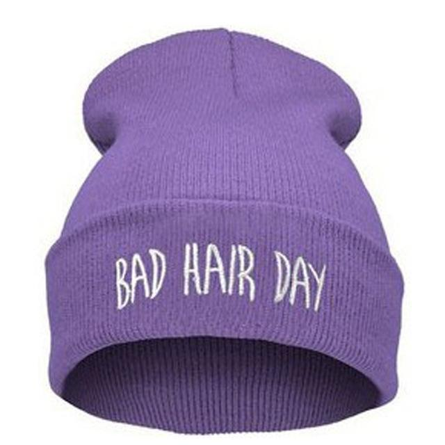 BAD HAIR DAY BEANIE - We ALL have bad hair days!!!