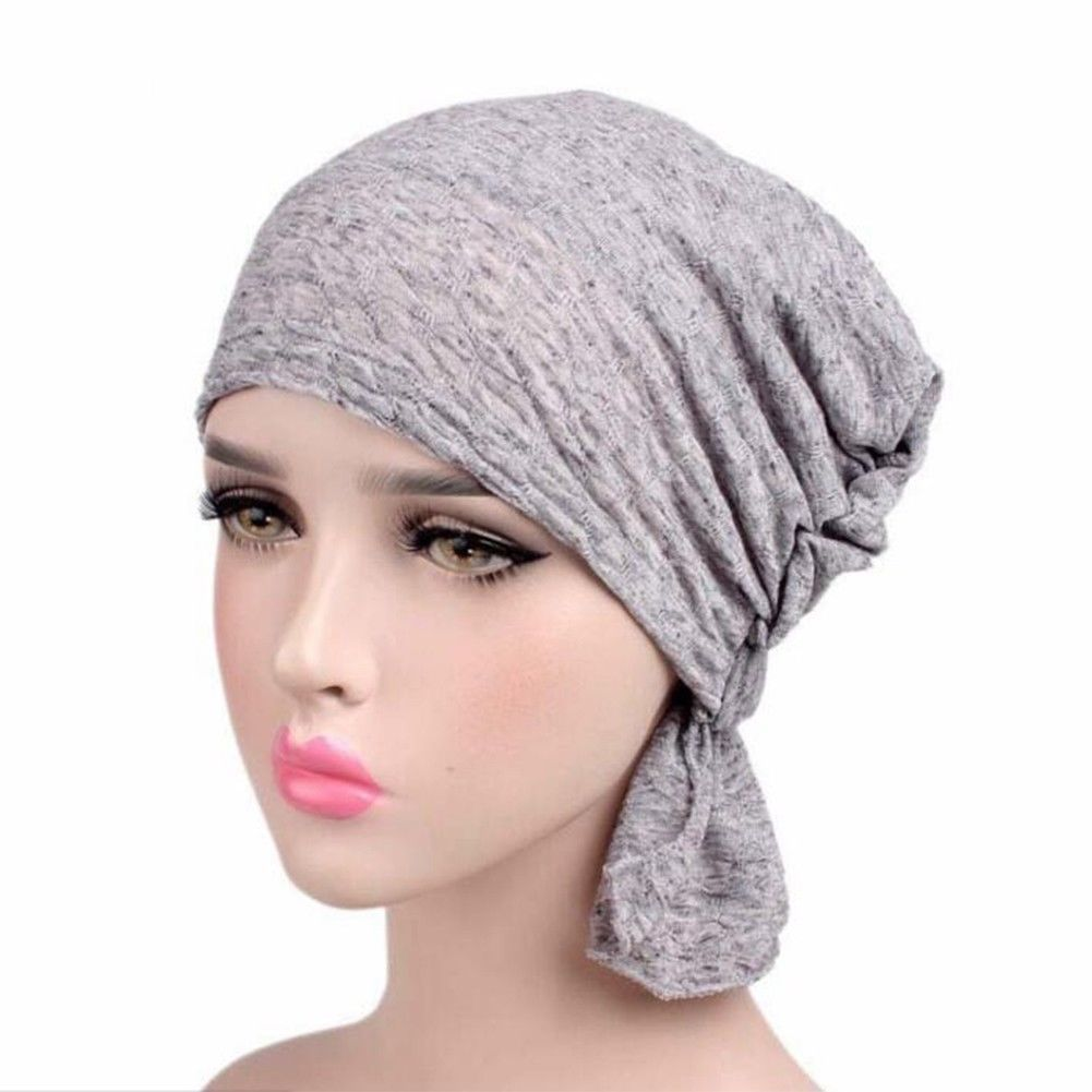Coco Pre-Tied Soft Cotton Slip on Headwear Turban Cancer hat by Chemo hats