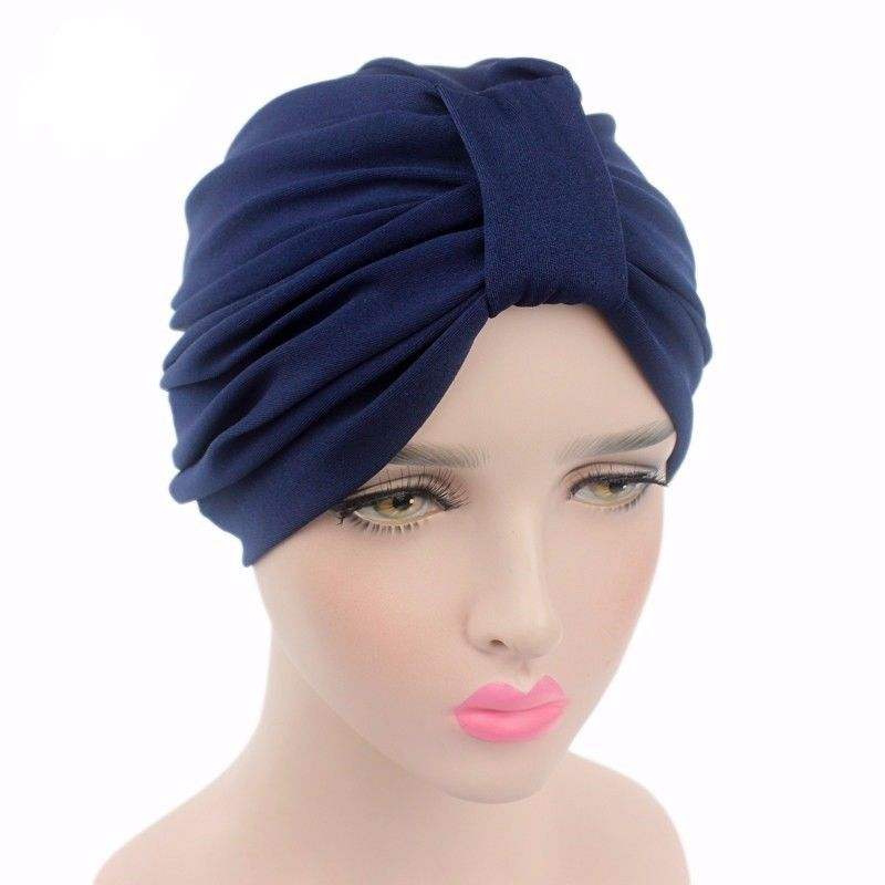 Maya Turban Style Soft Cotton Slip On Cancer hat by Chemo hats