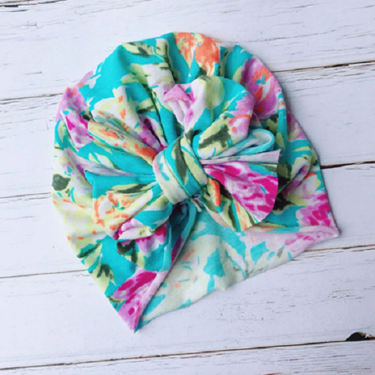 Soft Knot Turban Hair Head Wrap by Chemo Hats - 0-5 years