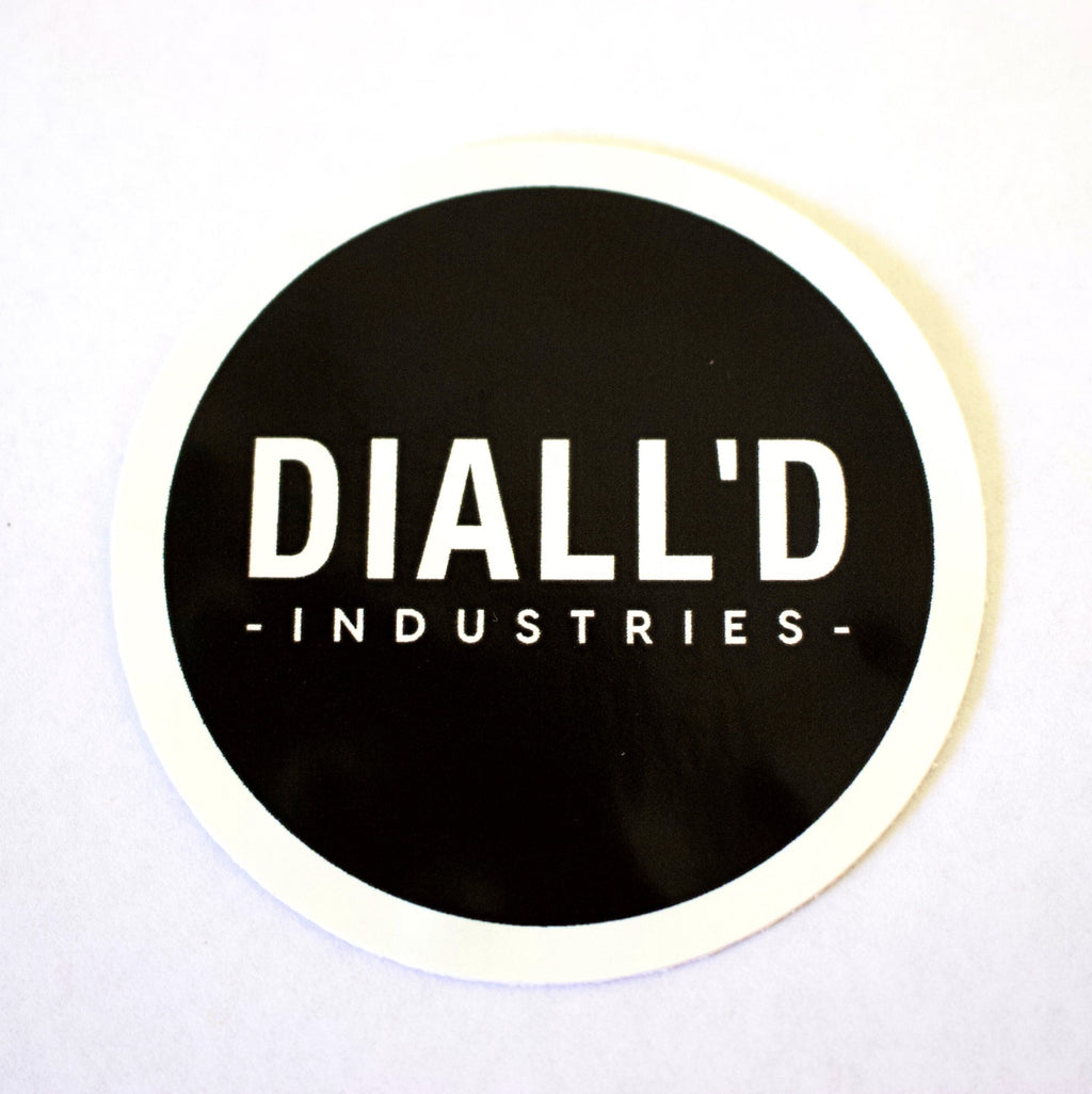 "Diall'd Sticker ""LOGO"""