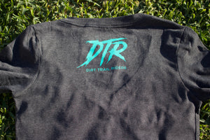 Ladies DTR Charcoal/Teal T-Shirt