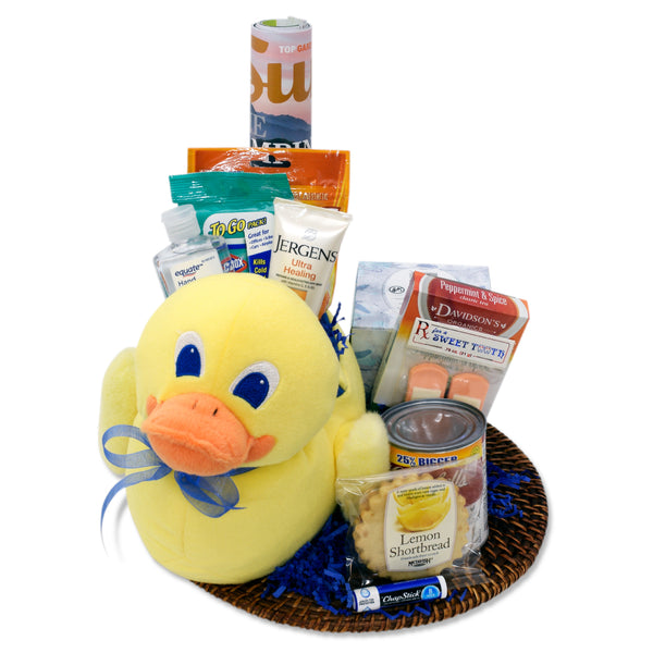 Ducky Get Well Basket