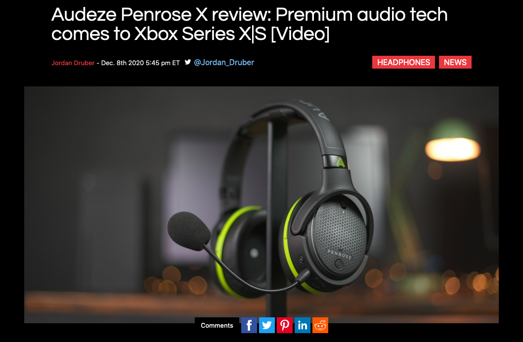 """Premium audio tech comes to Xbox Series X