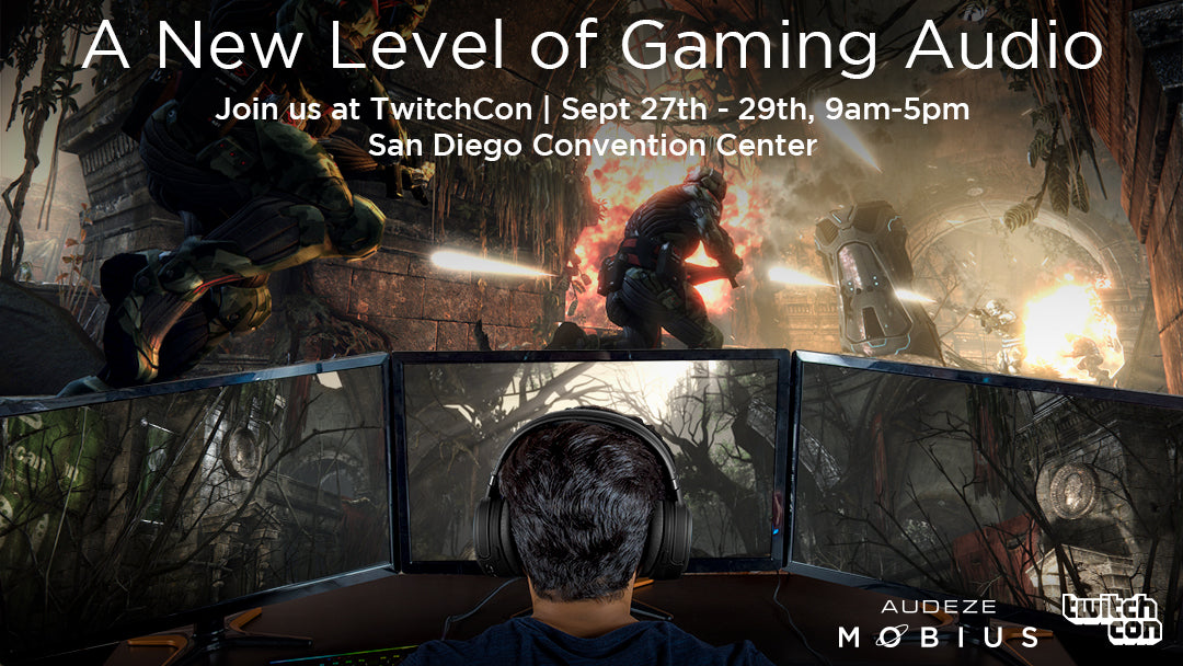 Audeze is coming to TwitchCon!