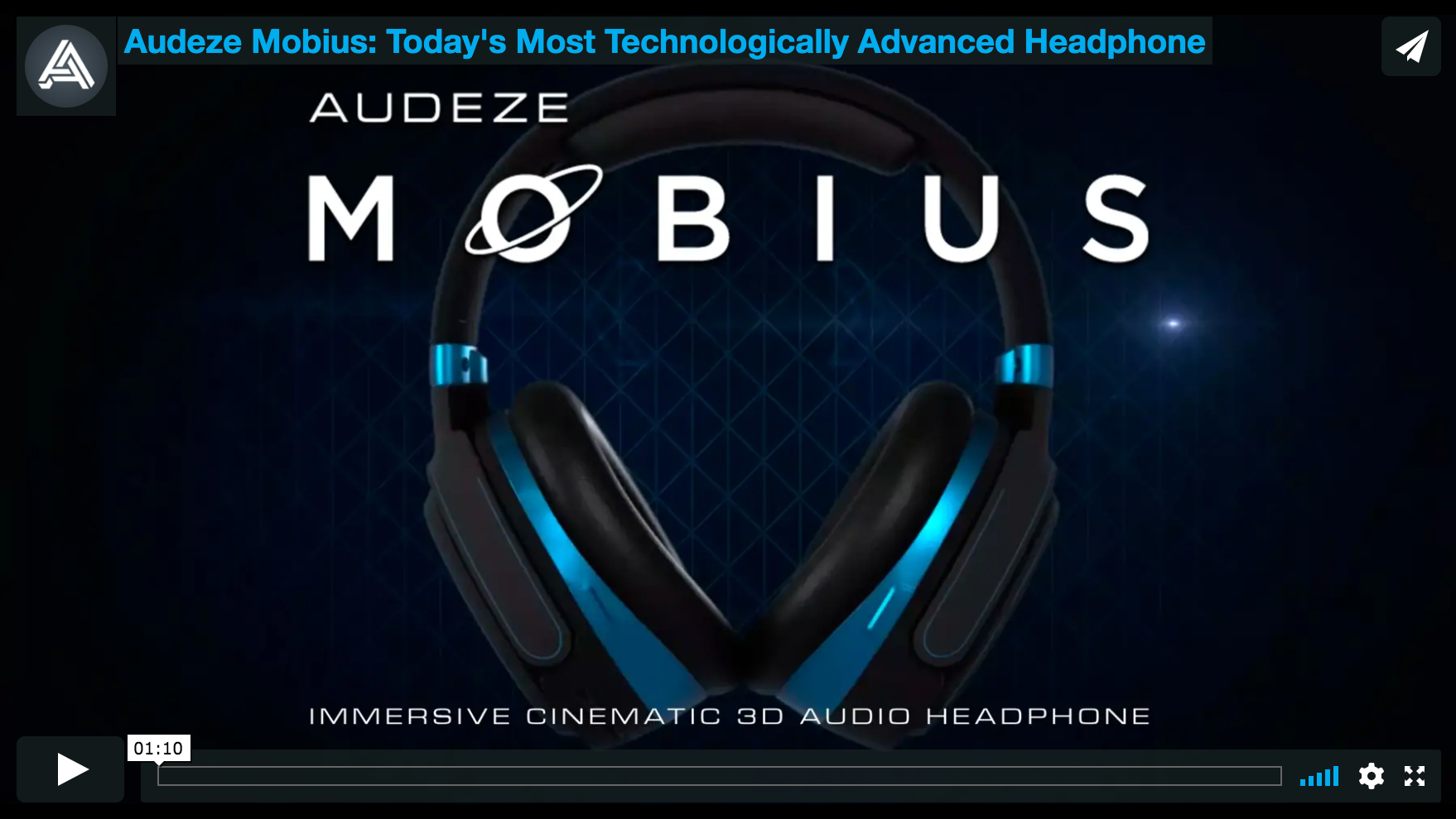 Audeze Mobius: Today's Most Technologically Advanced Headphone