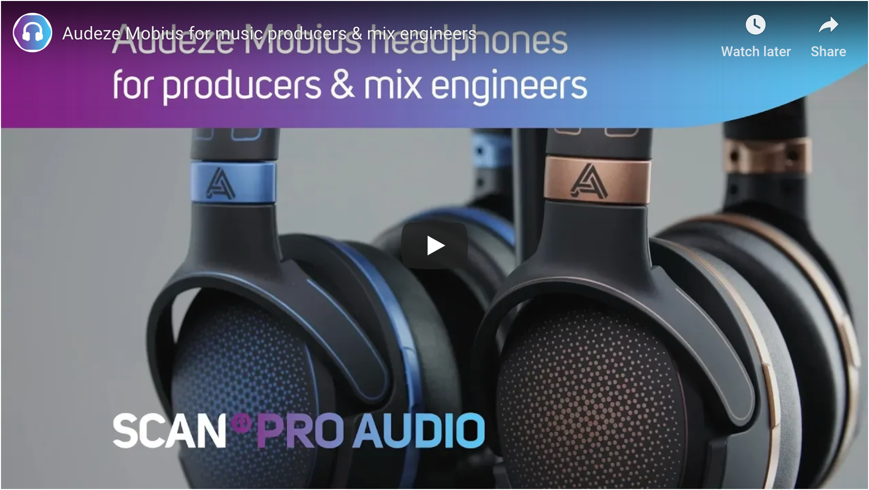 Audeze Mobius for Audio Production