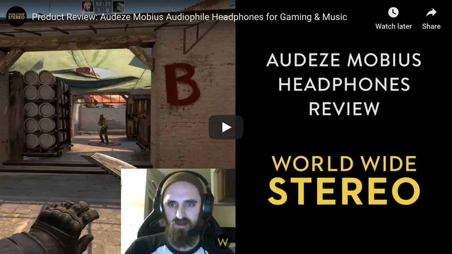 Audeze Mobius: In-Depth Look at Competitive Advantage in CS:GO