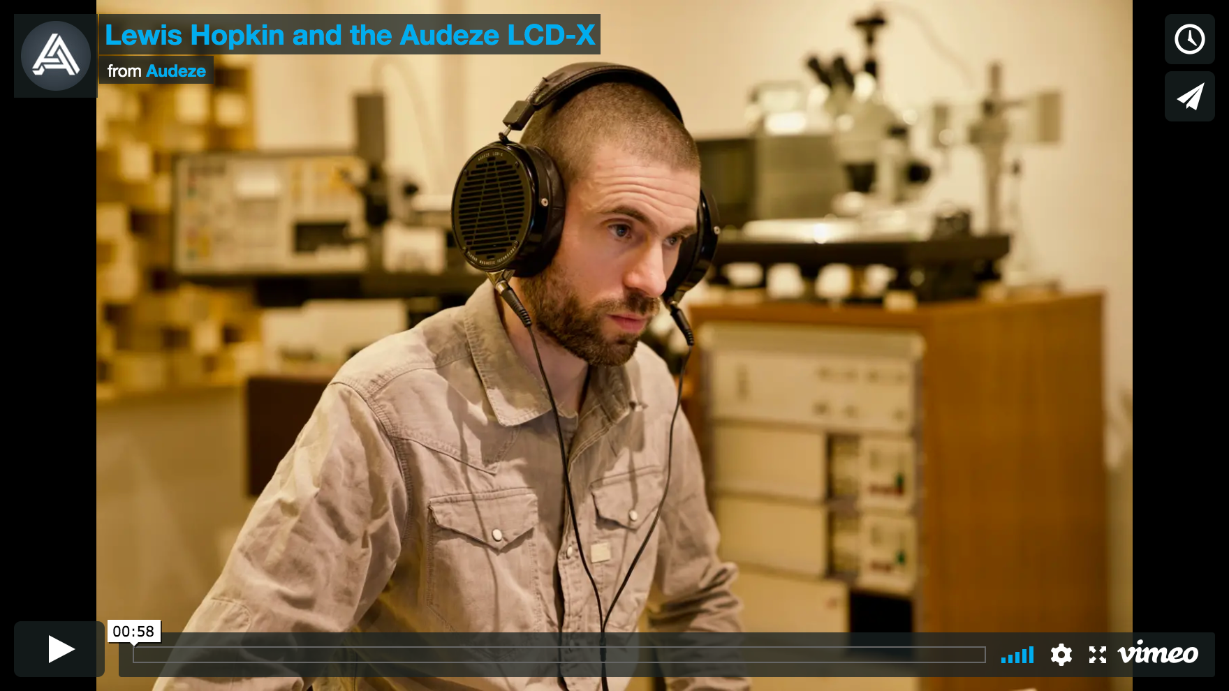 Grammy Award-winner Lewis Hopkin on the Audeze LCD-X