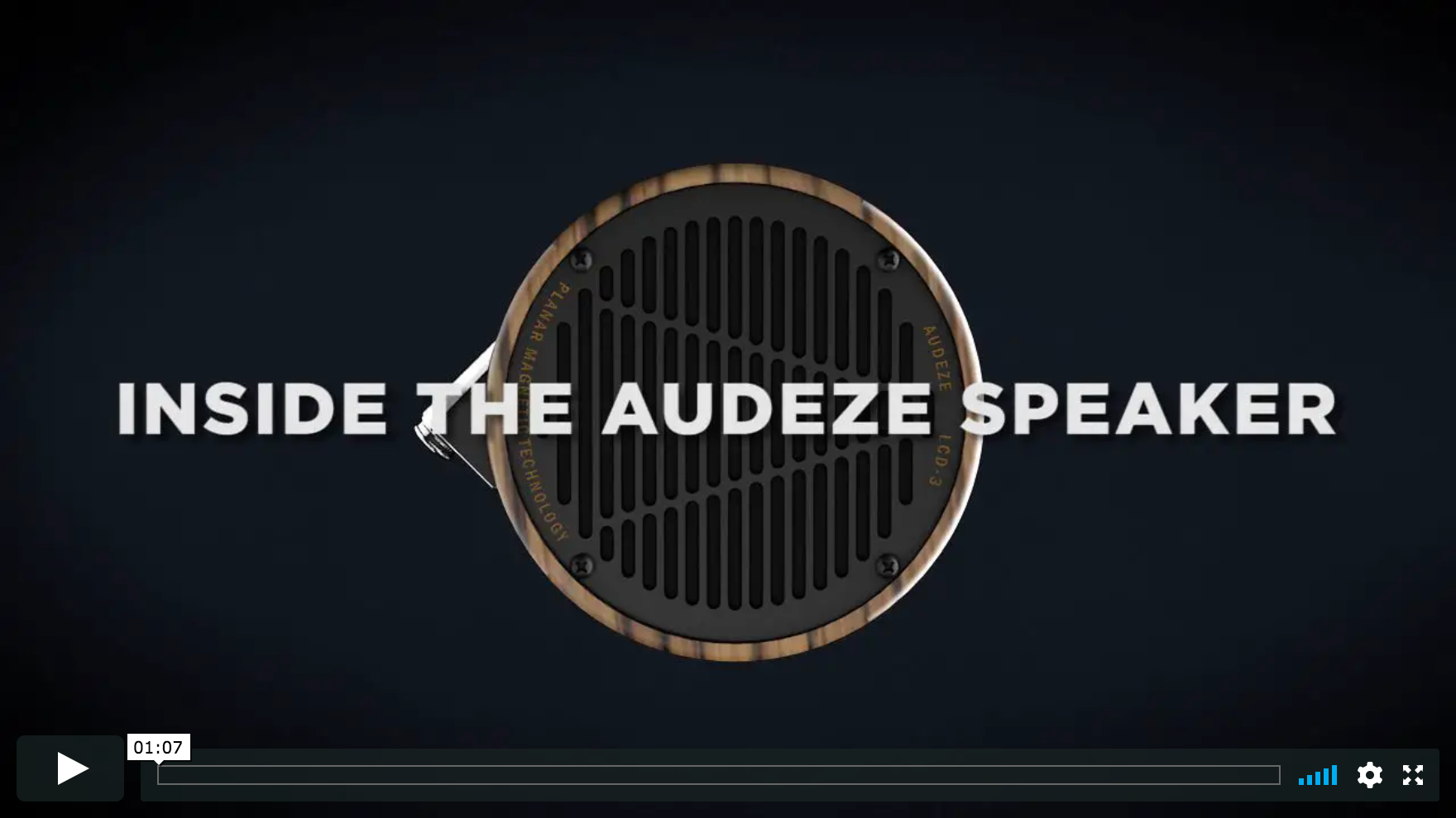 Inside the Audeze Planar Driver