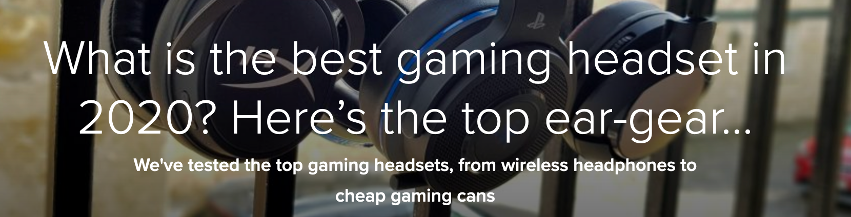 PCGamesN Names Audeze Mobius Best 3D Audio Gaming Headset of 2020