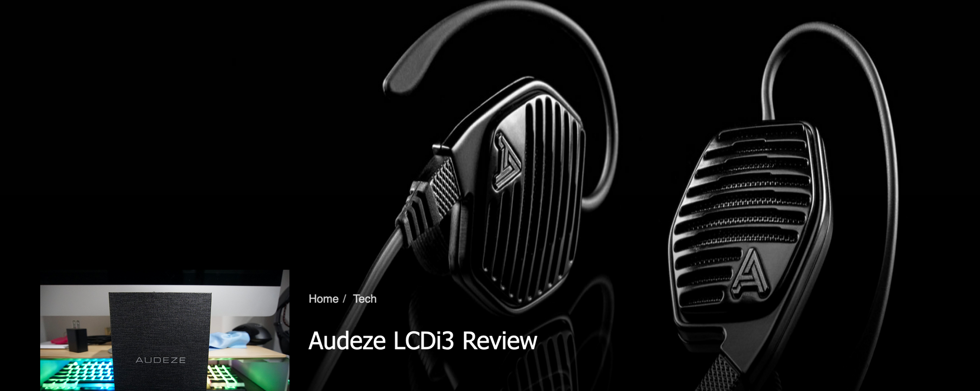 Audeze LCDi3 Gets Editor's Choice from Just Push Start