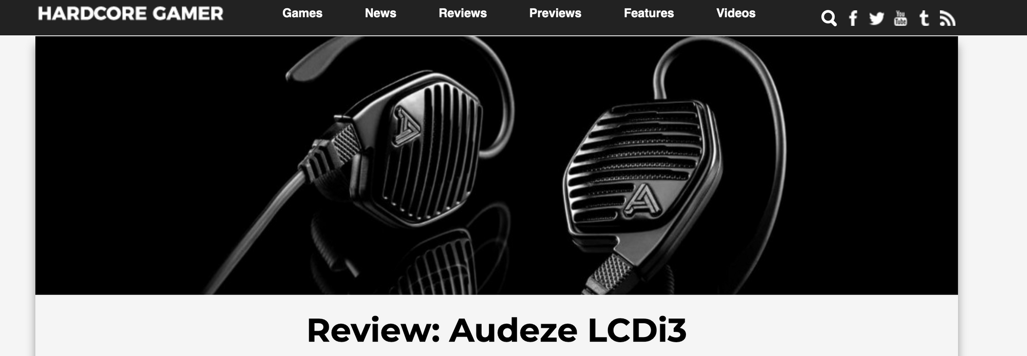 Hardcore Gamer Reviews the Audeze LCDi3