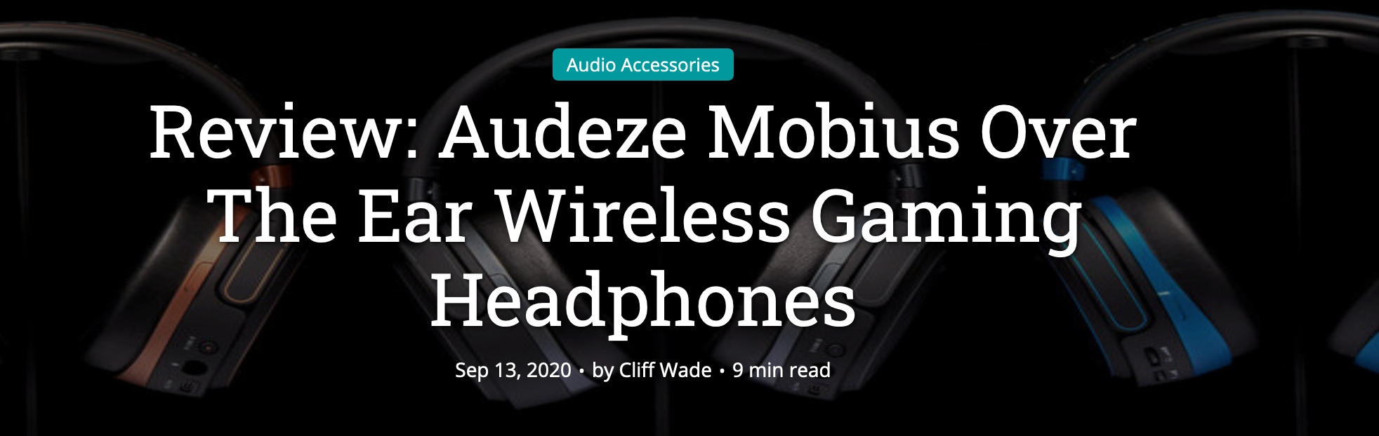 TechDissected Reviews the Audeze Mobius
