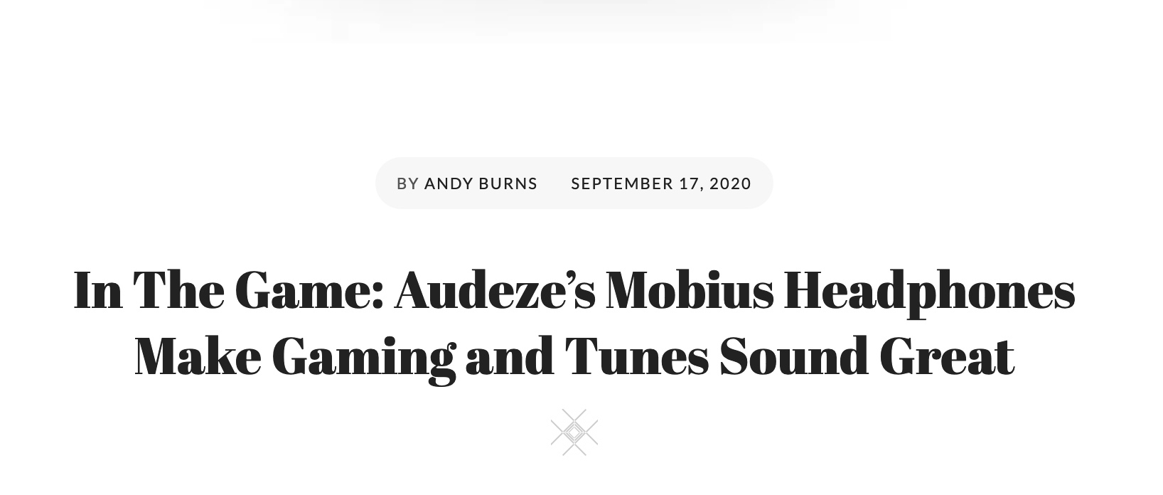Biff Bam Pop Reviews the Audeze Mobius