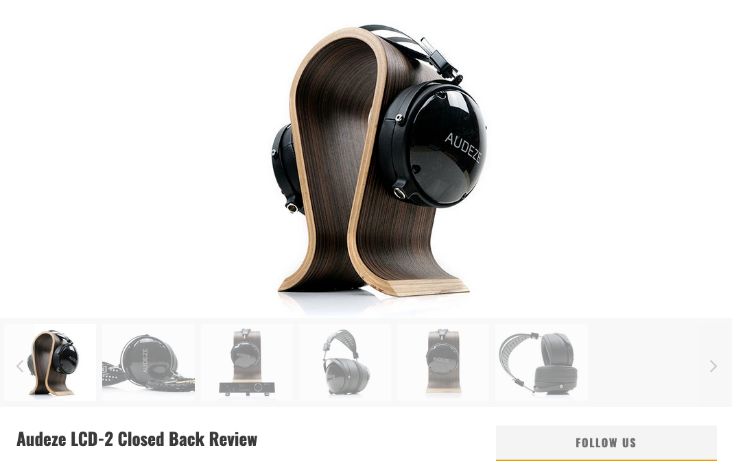 Audeze LCD-2CB Receives Near Perfect 9/10 Score From Headfonics