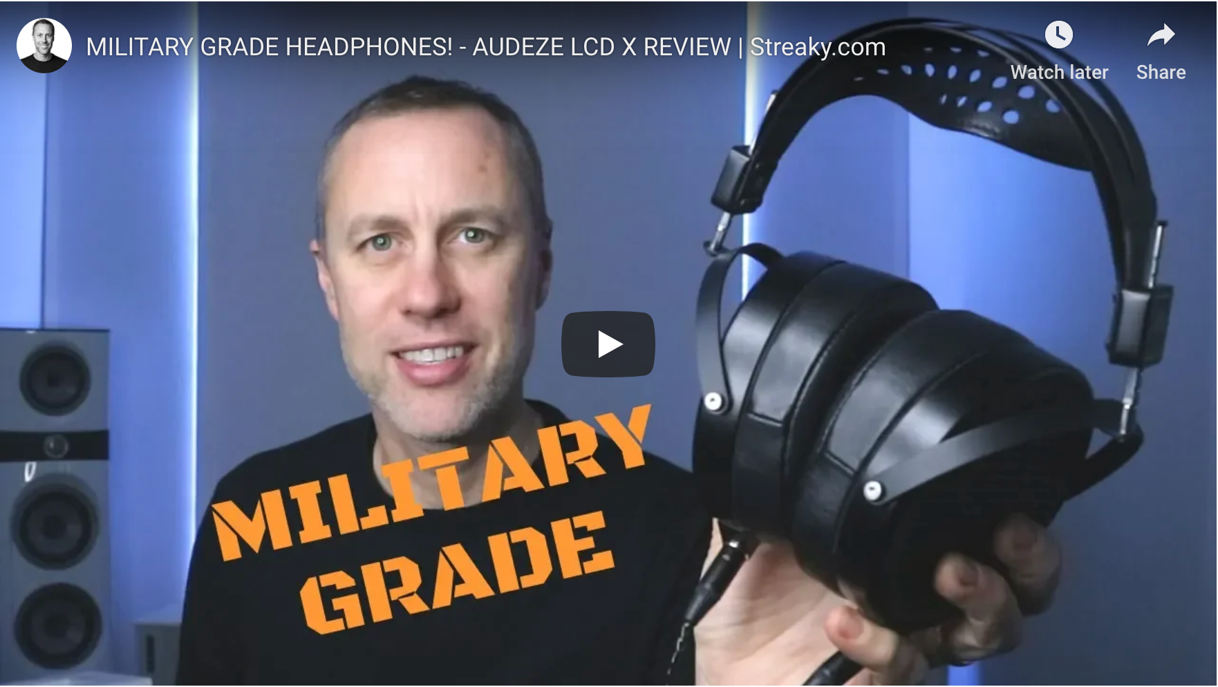 Streaky Mastering Reviews the Audeze LCD-X