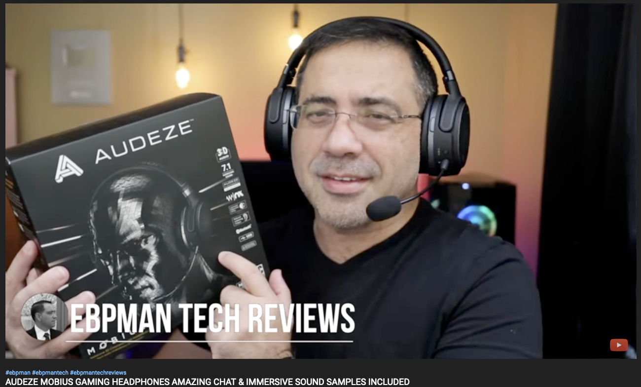EBP Man Tech Reviews the Audeze Mobius