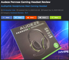 """Audiophile Headphones Meet Gaming Headset"" Says MMORPG About Audeze Penrose"