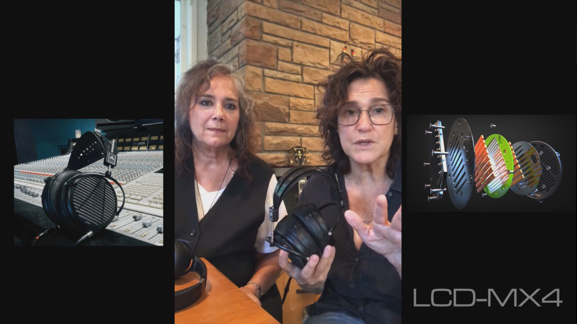 Wendy and Lisa of Prince and the Revolution Compare the LCD-MX4 to the LCD-1