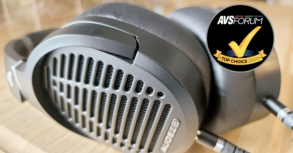 AVS Forum Gives the Audeze LCD-1 Top Choice Badge
