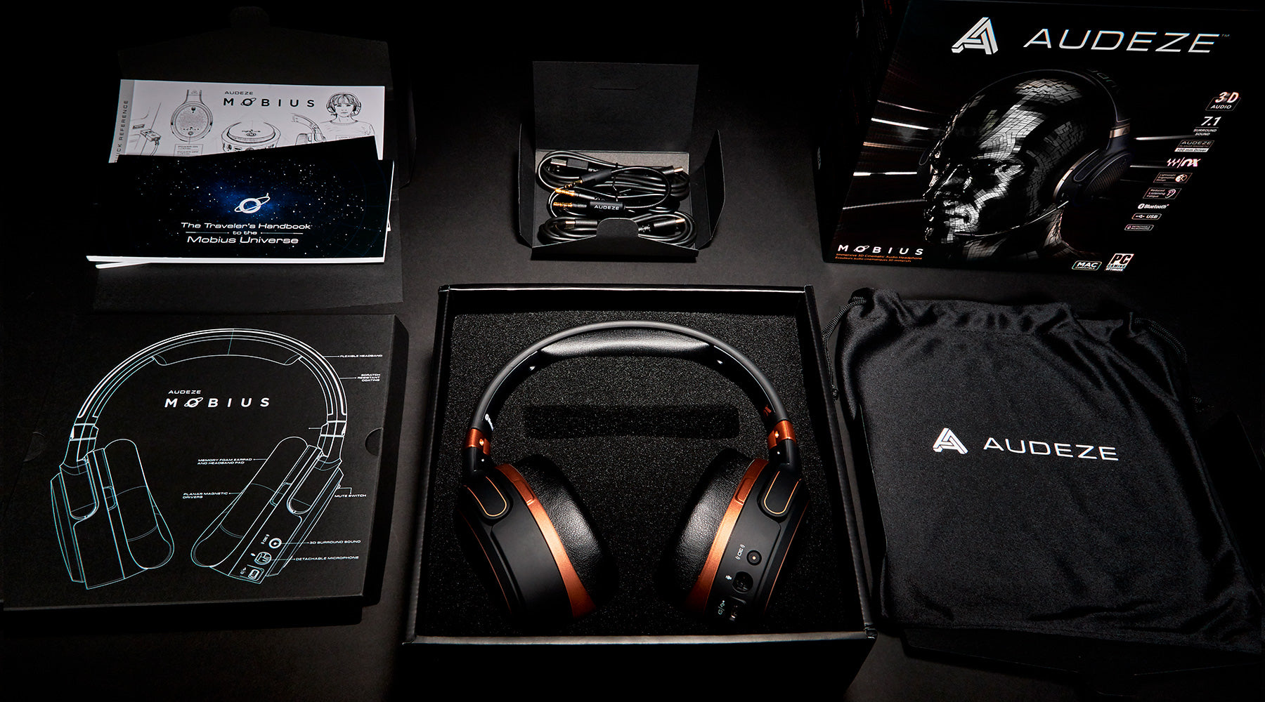 MOBIUS 3D AUDIO GAMING HEADPHONE