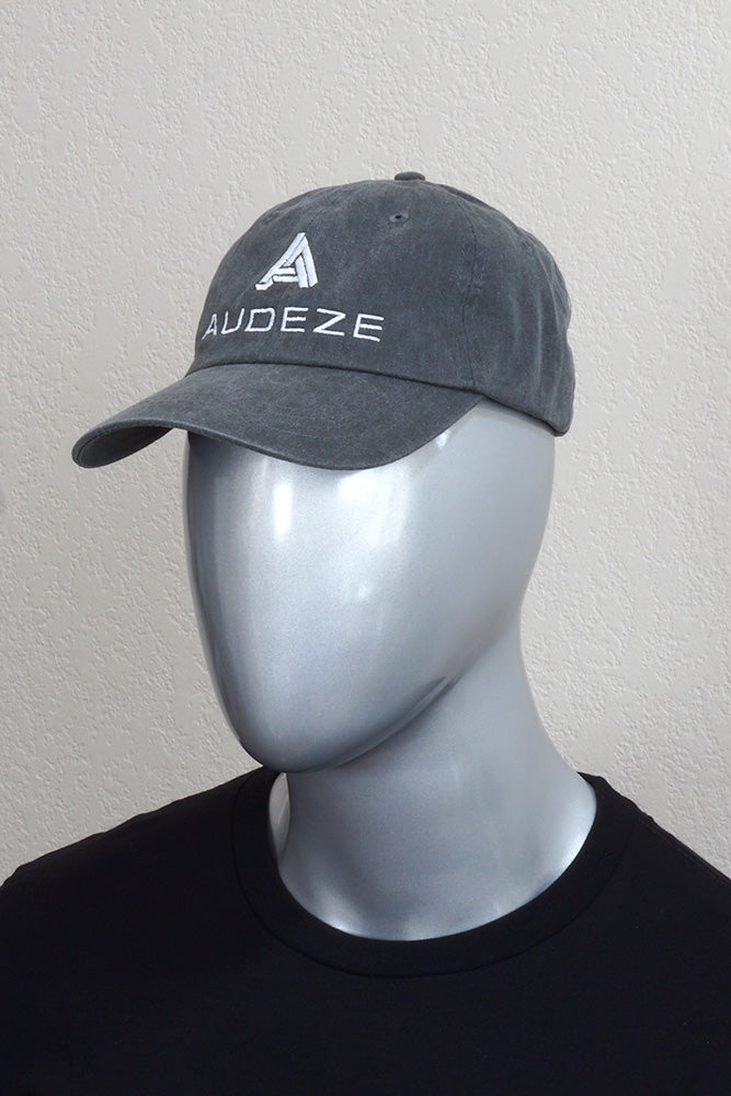 Grey Acid Wash Audeze Logo Hat