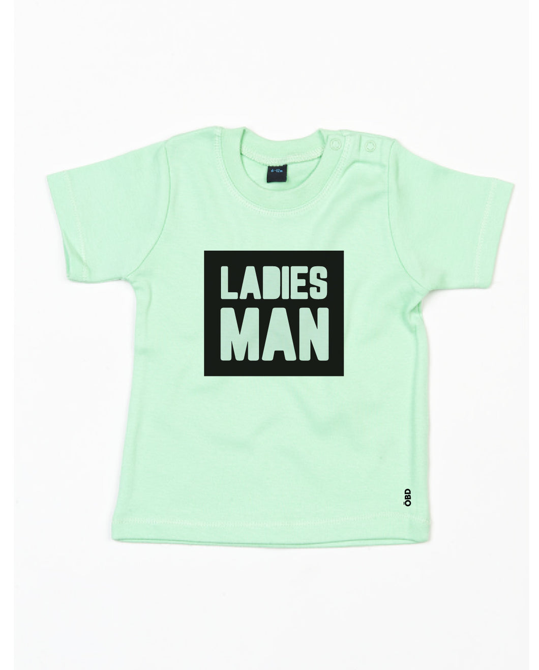 Ladies Man baby tee
