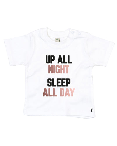 Up All Night Baby T-Shirt